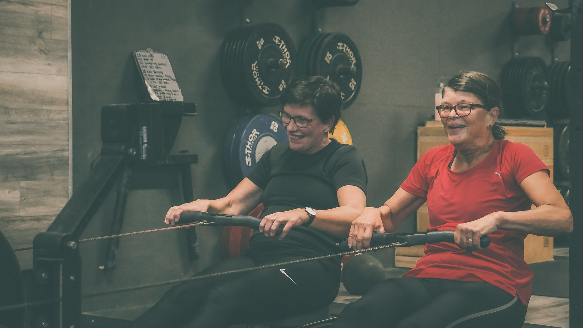 Seniorträning på Totus Fitness
